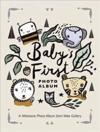 Baby's First Photo Album: A Milestone Photo Album